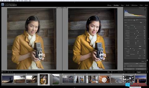 Petikan skrin Adobe Photoshop Lightroom untuk Windows 8.1