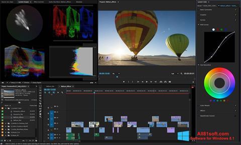 Petikan skrin Adobe Premiere Pro untuk Windows 8.1