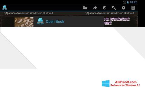 Petikan skrin AlReader untuk Windows 8.1
