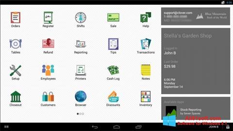 Petikan skrin Clover untuk Windows 8.1