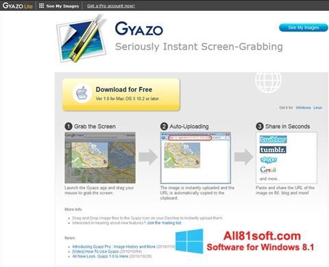 Petikan skrin Gyazo untuk Windows 8.1