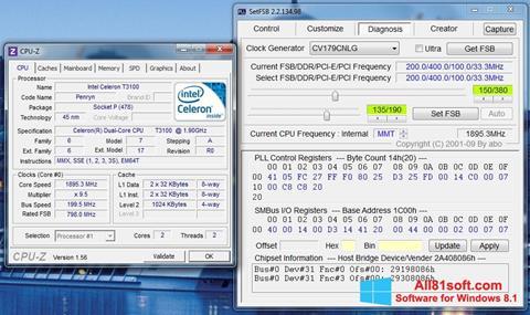 Petikan skrin SetFSB untuk Windows 8.1