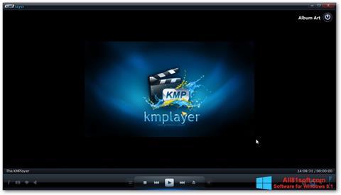 Petikan skrin KMPlayer untuk Windows 8.1