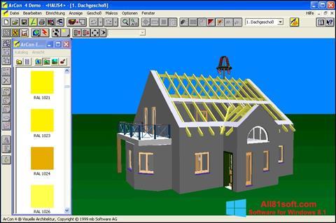 Petikan skrin Arcon untuk Windows 8.1