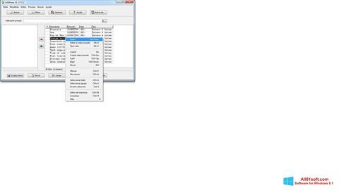 Petikan skrin ArtMoney Pro untuk Windows 8.1