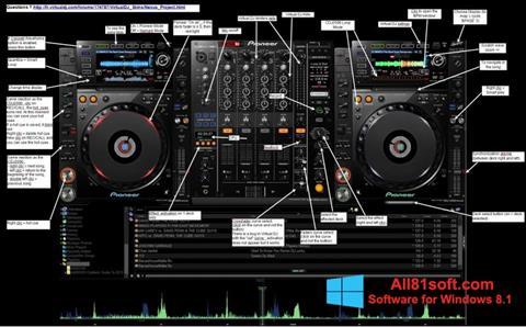 Petikan skrin Virtual DJ untuk Windows 8.1