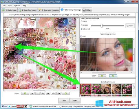 Petikan skrin Photo Collage untuk Windows 8.1