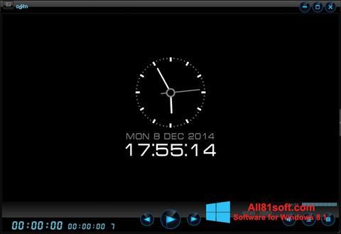 Petikan skrin Daum PotPlayer untuk Windows 8.1