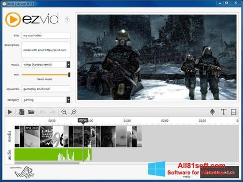 Petikan skrin Ezvid untuk Windows 8.1
