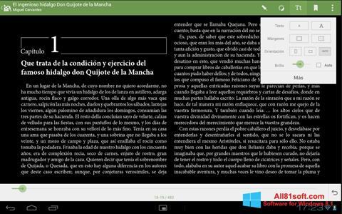 Petikan skrin BookReader untuk Windows 8.1