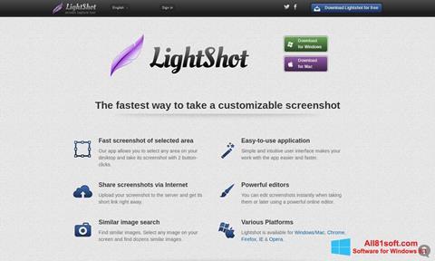 Petikan skrin LightShot untuk Windows 8.1
