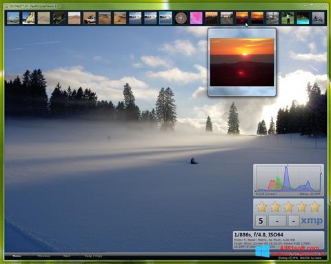 Petikan skrin FastPictureViewer untuk Windows 8.1