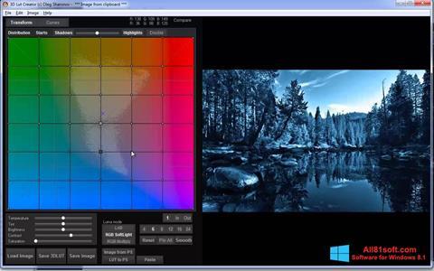 Petikan skrin 3D LUT Creator untuk Windows 8.1