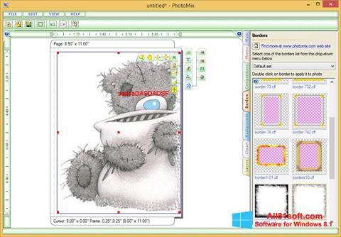 Petikan skrin PhotoMix Collage untuk Windows 8.1