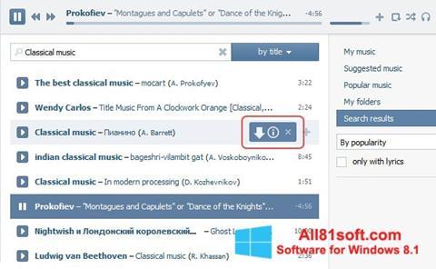 Petikan skrin SaveFrom.net untuk Windows 8.1